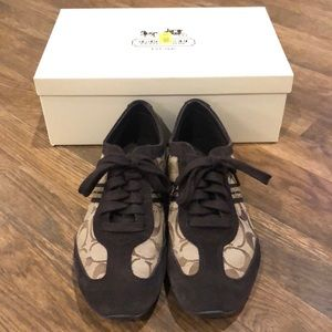 Coach Beyla Tennis Shoes, Size 8.5M